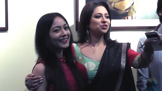 Bengali actress enjoying photoshoot in iccr photography exhibition