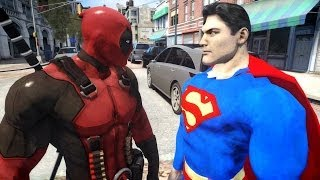 Superman VS Deadpool