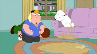 Family Guy Reverse Vomiting