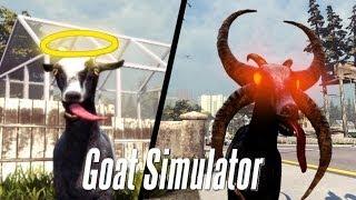 SOY UNA CABRA DIABOLICA - Goat Simulator - Easter Egg Devil Goat