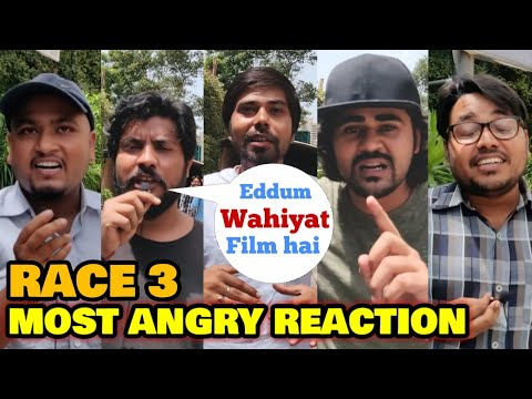 Race 3 Movie | MOST ANGRY PUBLIC REACTION | Salman Khan, Bobby Deol, Anil Kapoor, Remo D'Souza