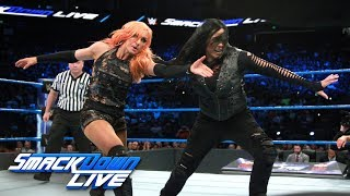 Fatal Four-Way Match - Winner challenges for SmackDown Women