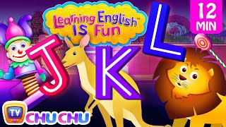JKL Songs | ChuChu TV Learning English Is Fun™ | ABC Phonics & Words Learning For Preschool Children