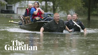 Storm Imelda lashes Texas with