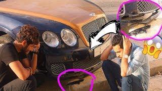 سرقت البنتلي حقت صاحبي وصدمت فيها!!😭 (دفعت 22,000 الف ريال!!😰)
