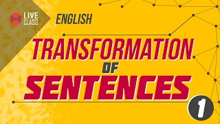 English Transformation of Sentences [SSC | HSC | Admission]