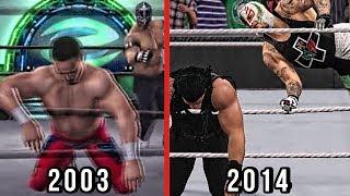 The Evolution Of Rey Mysterio's 619 ( WWE RAW 2 To WWE 2K15 )