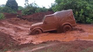 Off Roading 2017 Maruti Suzuki Gypsy King 4x4