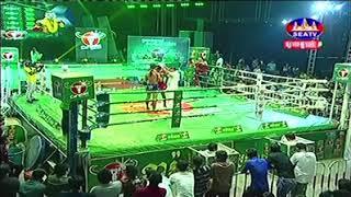 Chan Samart vs Chamoukpetch (Thai) Seatv Khmer boxing 24/11/2018