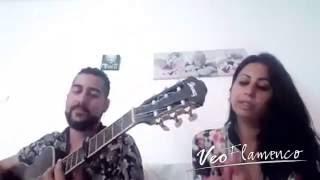 Juan San Juan con Carmen hija de Raimundo Amador cantando por Camaron   VEOFLAMENCO