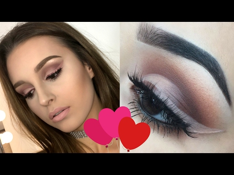 VALENTINES INSPIRED MAKEUP TUTORIAL