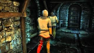The Witcher 2 Kitörés a börtönből gameplay video (magyar felirattal)