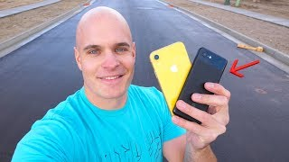 iPhone XR DROP TEST vs Pixel 3 - Which Phone Survives?
