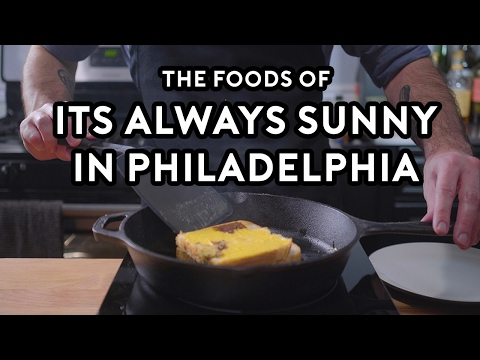 Binging with Babish It s Always Sunny in Philadelphia Special