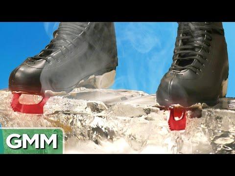 Xxx Mp4 1500 Degree Hot Ice Skates Vs Ice Block 3gp Sex