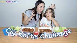 Çiğ Köfte Challenge - Ablam mı Ben mi Çikolata Ödüllü - Eğlenceli Çocuk Videosu - Funny Kids Videos
