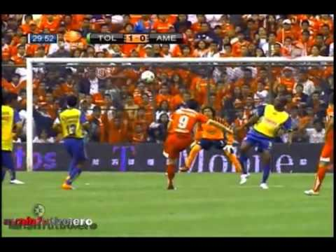 Toluca vs America 2 1 Jornada 8 Apertura 2010 19 09 10