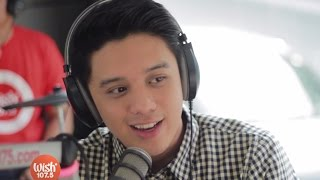 "Tim Pavino sings ""Maybe"" (King) on Wish 107.5 Bus"