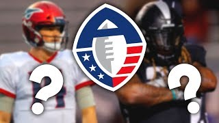 10 Former NFL Players You DIDN'T KNOW are Playing in the AAF