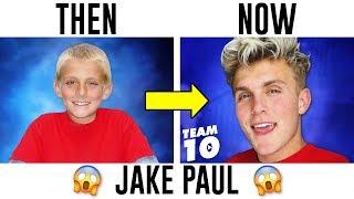 YouTubers Then And Now 2017 (Jake Paul, PewDiePie, DanTDM)