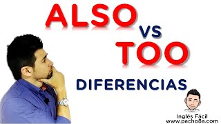 Esta es la diferencia entre ALSO y TOO - Tú también puedes aprenderlo