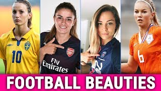 Top 10 Most Beautiful Female Football Players in 2019 (Soccer Hotties)