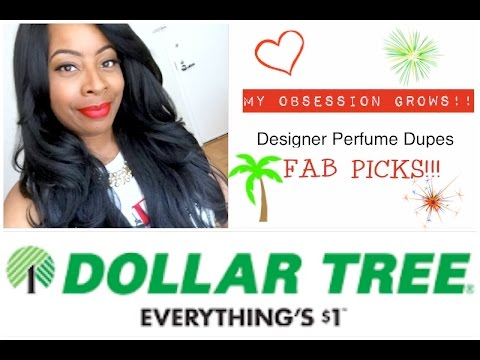 Dollar Tree | DESIGNER PERFUME DUPES FAB PICKS!! | My GROWING OBSESSION Continues...