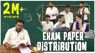 Exam Paper Distribution | School Life | Veyilon Entertainment