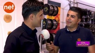 Barham Shamami La Programi Like magazin ( Net Tv )