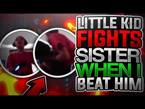 LITTLE KID BEATS UP SISTER AFTER I DROP HIM OFF NBA 2K18 RAGE THIS NEEDS TO STOP
