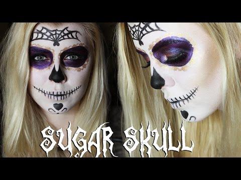 Xxx Mp4 Sugar Skull Halloween Makeup Tutorial 2014 English Subtitles 3gp Sex