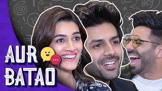 Kartik Aryan talks about Sara Ali Khan, relationship status || LUKA CHUPPI INTERVIEW