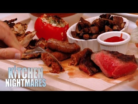 EVERY Order Sent Back For Being RAW | Kitchen Nightmares