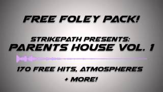 Free Foley Samples - Parents House Vol. 1 [Free Download]