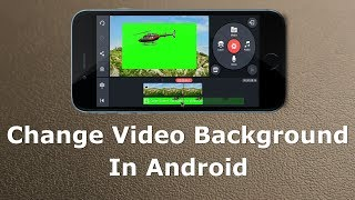 How To Change Video Background in Android