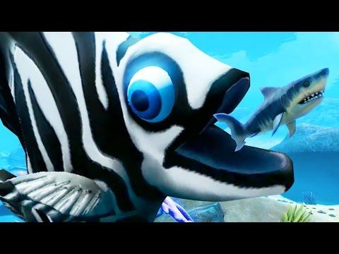 GIANT LEVEL 300 ZIBRA Feed and Grow Fish Part 7 Pungence