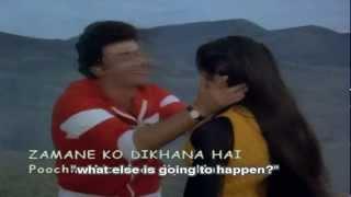 Poocho Na Yaar Kya Hua (Eng Sub) [Full Video Song] (HD) - Zamane Ko Dikhana Hai