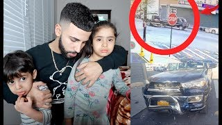 My Brother Got In A Car Crash😰 (CAUGHT ON CAMERA)