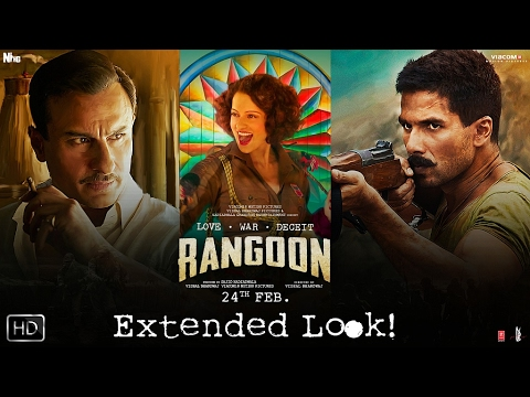 Xxx Mp4 Extended Look Rangoon Kangana Ranaut Shahid Kapoor And Saif Ali Khan 3gp Sex