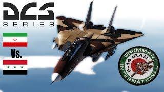 DCS: Iranian F-14 Tomcat Mod Vs Iraqi Mig-29A PvP