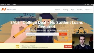 NameCheap Domain Name Registrar Tutorial 2016 - NameCheap Hosting Simply Explained - Youtube