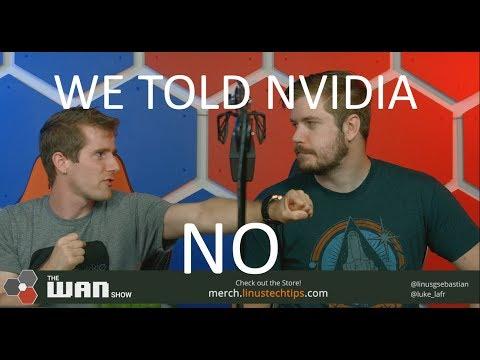 Xxx Mp4 We Told Nvidia NO WAN Show August 17 2018 3gp Sex