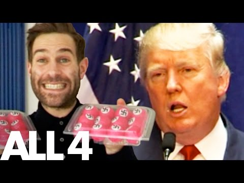 Xxx Mp4 Simon Brodkin Pranks President Trump With Swastika Golf Balls 3gp Sex