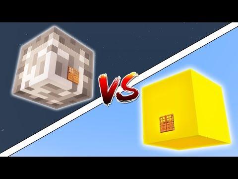 GÜNEŞ İÇİNDE YAŞAMAK VS AY İÇİNDE YAŞAMAK (Minecraft)