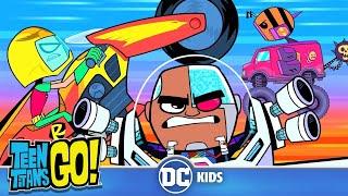 Top 10 Cool Joyrides! | Teen Titans Go! | DC Kids