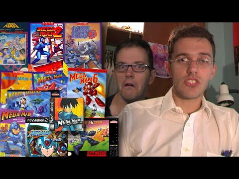 MEGA MAN Games DOS PS1 PS2 Angry Video Game Nerd AVGN