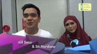 MeleTOP YouTube Eksklusif: Alif  Tahu Bahasa Isyarat & Nana Perangai Gila Gila Ep184 [10.5.2016]