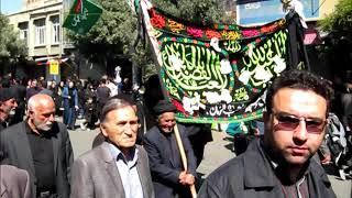 Ashura procession on the tenth day of Muharram