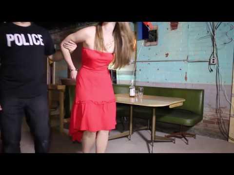 Girl handcuffs police
