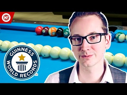 Guinness World Records Pool Trick Shots